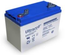 Batería Ultracell 100Ah. Producto actual, bornes pueden variar